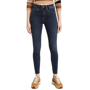 Good American Good Legs Raw Edge Skinny Jeans